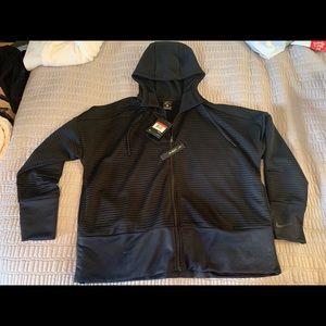 Nike, zip up, running jacket
